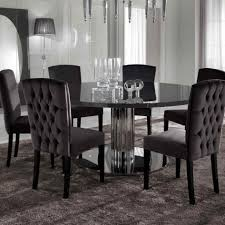dinning modern round dining room table kitchen set dining room