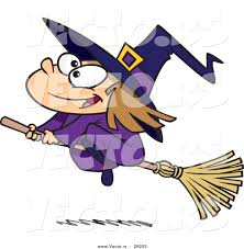 halloween cartoon pictures witches images