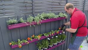 d i y gutter fence planter bunnings warehouse