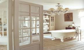 shabby chic bathrooms on a budget stone grey modern double sink