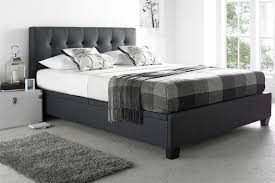 ottoman beds with mattress kaydian abbey ottoman bed in slate grey beds on legs
