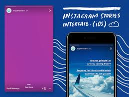 instagram layout vector illustrator instagram stories ios interface psd by eugenia clara dribbble