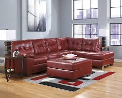 Red Sectional Sofas by Red Sectional Red Bonded Leather Sofa Shop Factory Direct