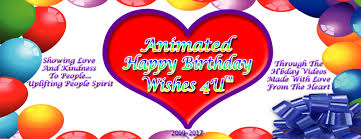 Happy Birthday Wishes Animation For Animated Happy Birthday Wishes 4u Home Facebook