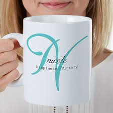 personalized oversized coffee mug name meaning