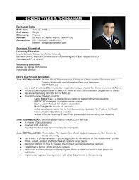 Sample Resume Objectives For Fresh Graduates Hrm by Sample Resume For Hrm Undergraduate Youtuf Com