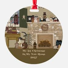 new home christmas ornament cafepress