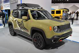 renegade jeep truck two jeep renegades get the mopar treatment at the naias jk forum