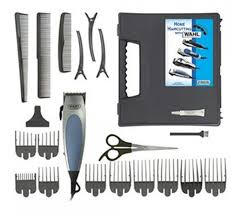 wahl 22pcs hair clipper kit 9243 2208 hsds home shopping