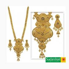 new gold set gold necklace and earrings set 120 gram 20 color
