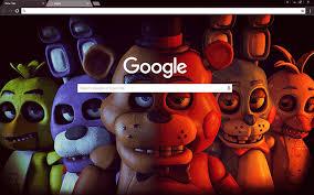 google wallpaper fnaf free fnaf hd google chrome theme download