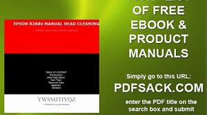 epson r2880 manual head cleaning video dailymotion