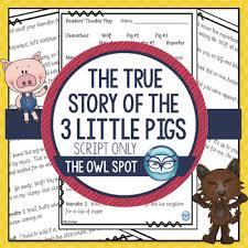 true story pigs readers u0027 theater script