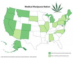 Recreational Marijuana Map How Many States Have Medical Cannabis The Duber