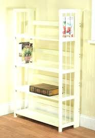 stackable bookcases solid wood foldable bookcase folding bookshelves target bookshelf 3 tier bamboo