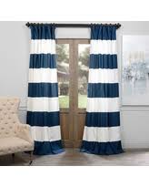 Blue Striped Curtains Exclusive Deals On Blue Striped Curtains