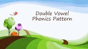 double vowel phonics pattern ai ay ea ee oa oe ui by lynn