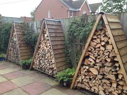 diy firewood shelter good outdoor firewood storage plans
