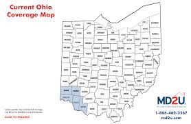 Greenville Ohio Map by Md2u Services And Locations
