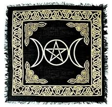 Pentacle Rug Moon Candle Holder 1pc Dd 115mc 15 80 Wiccan Magical Store