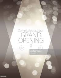 Invitation Card For Grand Opening Grand Opening Luxurious Invitation Card Vector Art Getty Images