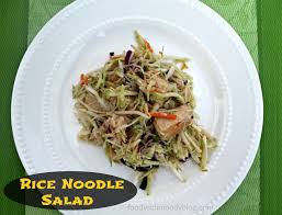 asian rice noodle salad foody schmoody blog foody schmoody blog