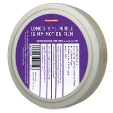 Purple Color 16mm Film Lomo Purple Color Negative Film U2013 Film Photography