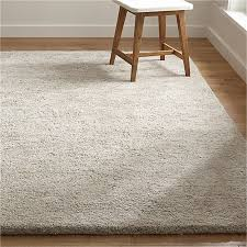Area Wool Rugs Neutral Wool Shag Rug Crate And Barrel