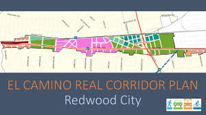 City Of San Jose Zoning Map by El Camino Real Corridor Plan City Of Redwood City