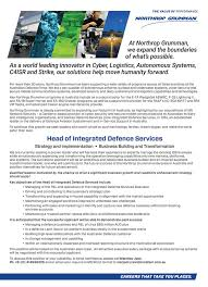 Northrop Grumman Resume Defence Special Report U2014 U0027so Much Of The Produce Can Be Promoted