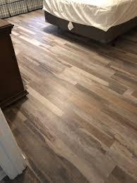 is vinyl flooring quality coretec plus cabin oak waterproof vinyl l flooring project