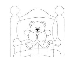 teddy bear coloring wee folk art