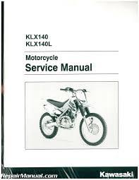 2008 2017 kawasaki klx140 klx140l service manual