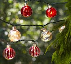 Pottery Barn Christmas Decorations Sale by 46 Best Christmas Lighting Images On Pinterest String Lights