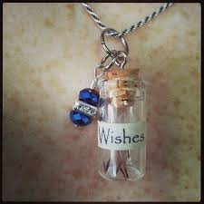 glass bottle necklace images How to make a snow white quot poison apple dust quot bottle necklace jpg