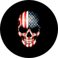 jeep american flag jeep nation wavy flag spare tire cover