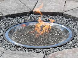 Fire Pit Crystals by Outdoor Fire Glass Fire Pit With Glass Crystals Fire Pits With