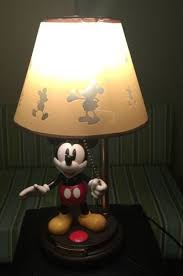 vintage disney mickey mouse animated talking lamp what u0027s it worth
