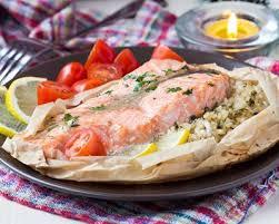 cuisiner saumon congelé recette papillote de saumon citronné au riz facile rapide
