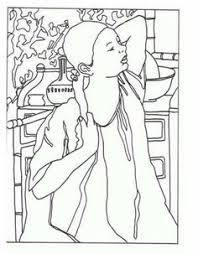 self portrait by albrecht durer coloring page coloring