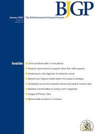 understanding general practice a conceptual framework developed