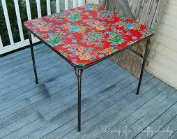 diary of a crafty lady card table rehab