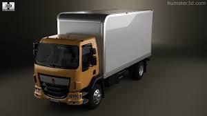 kenworth box truck 360 view of kenworth k370 box truck 2014 3d model hum3d store