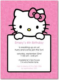 8 best images of hello kitty birthday party printable invitation