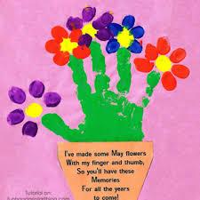 mother u0027s day ideas archives fun handprint art