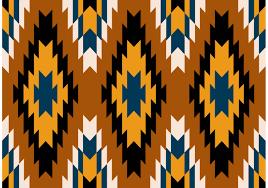 navajo aztec tribal patterns free vector stock