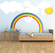 Wall Decals Kids Rooms by Best 25 Rainbow Wall Decal Ideas Only On Pinterest Rainbow