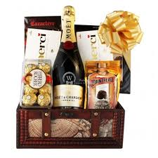 send a gift basket send chagne chocolate gift basket germany austria belgium