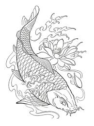 koi fish tattoos printable downloads ebooks