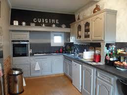 cuisine rustique repeinte en gris cuisine repeinte en blanc avec cuisine repeinte en gris affordable